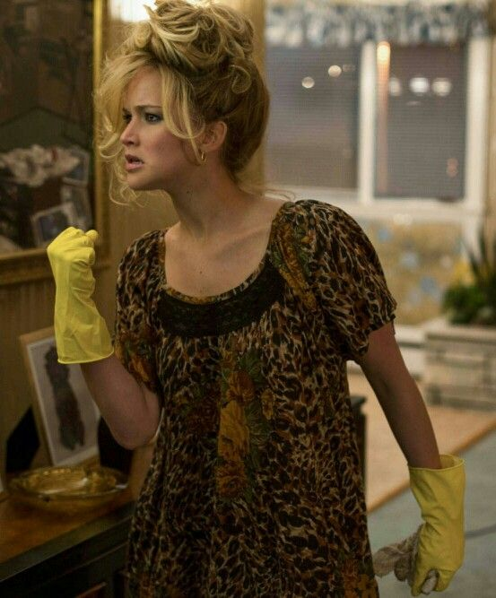 American Hustle. Jennifer lawrence.