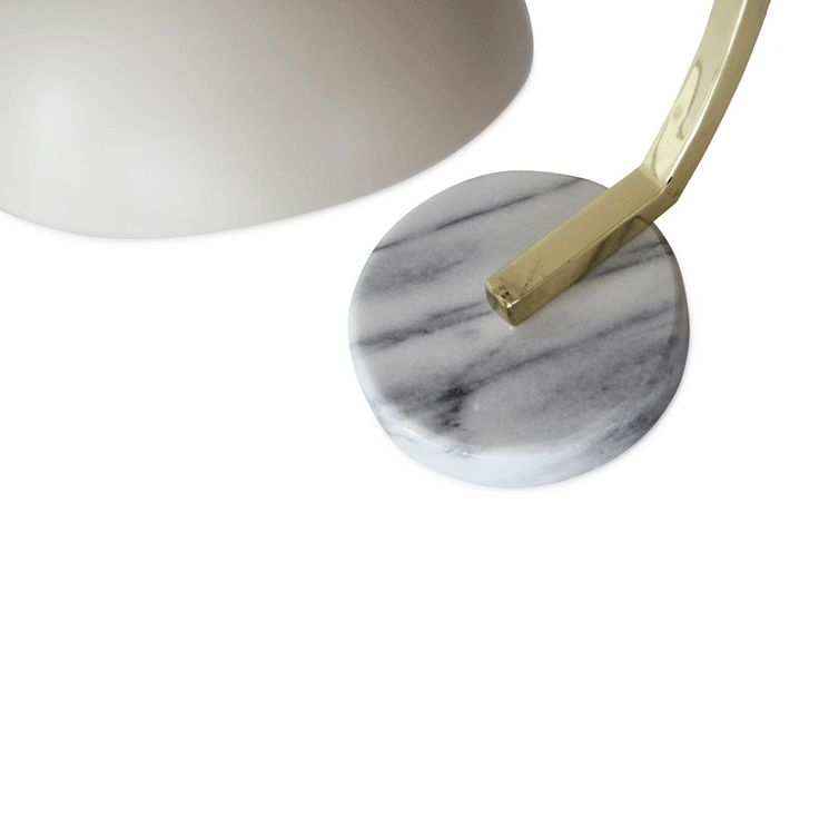 White Luxe Curved Lamp | New Arrivals | Homeware - Me and My Trend