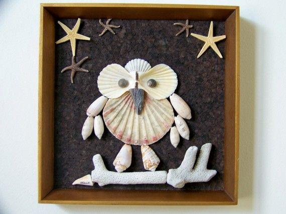 @Lauren Davison Davison Frezza, a craft we can make in FL... a sea shell owl!