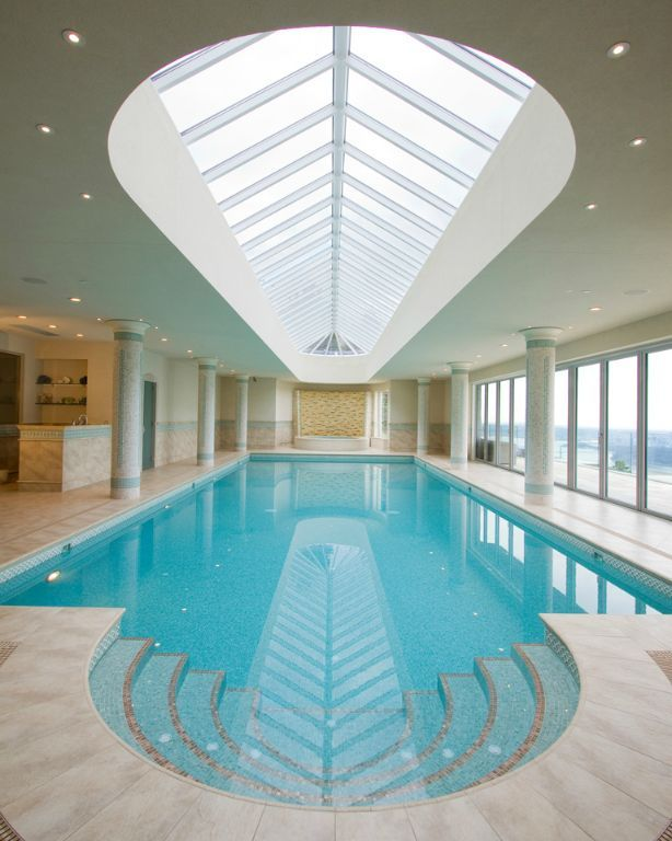 Indoor swimming pool luxus  Die 101 besten Bilder zu Indoor Swimming Pools auf Pinterest ...