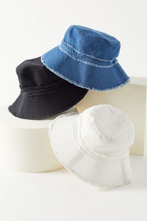 Frayed Canvas Bucket Hat Outfits With Hats Bucket Hat Fashion Hat Fashion