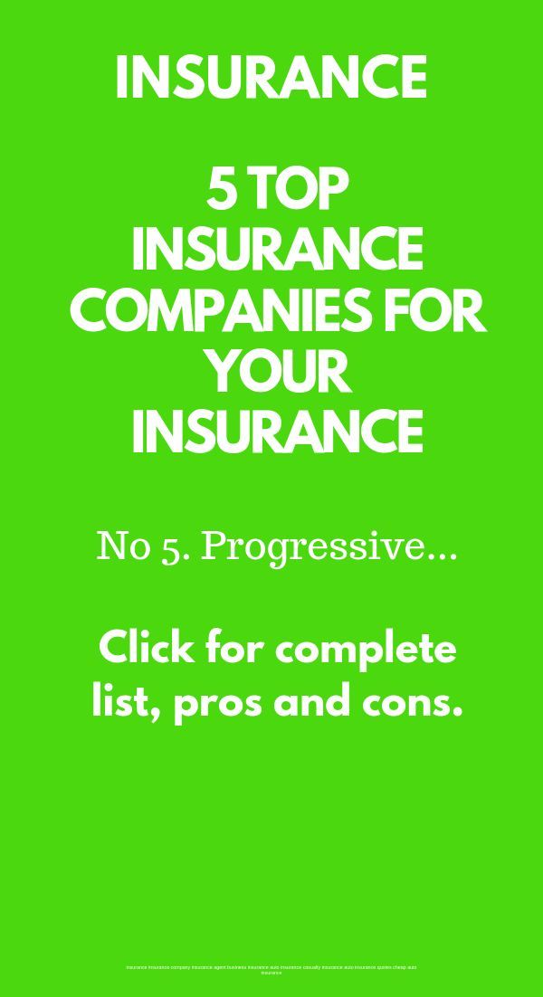 5 Top Insurance Companies Ratings And Reviews Companies