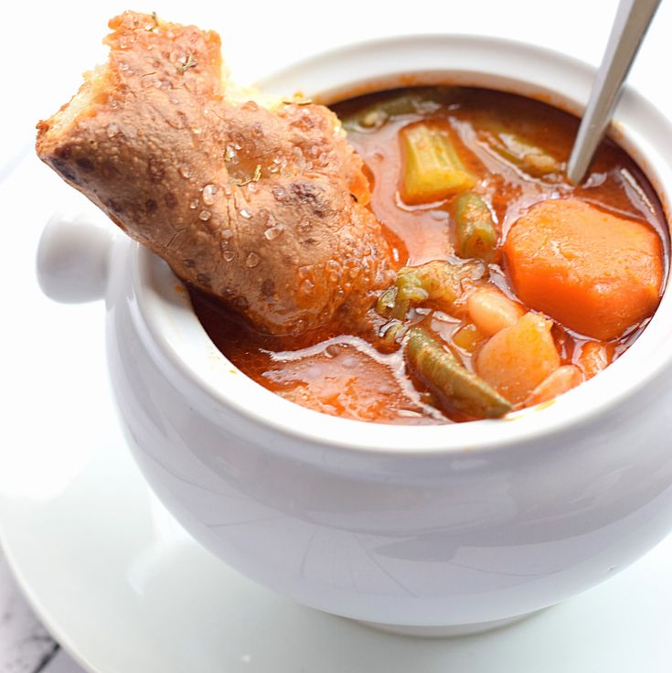 The Best Vegetable Soup Ever | Truffles and Trends
