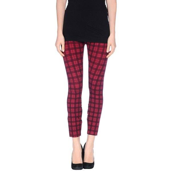 Freddy Leggings ($58) ❤ liked on Polyvore featuring pants, leggings, garnet, pocket pants, stretchy pants, stretchy leggings, freddy and stretch pants