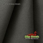 12oz Cotton Canvas Fabric / Duck Cloth - Charcoal Grey