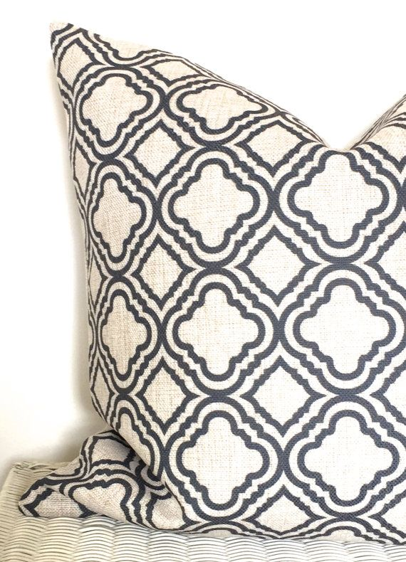 Geometric pillow cover geometric cushion moroccan by AUGUSTPLACEUK