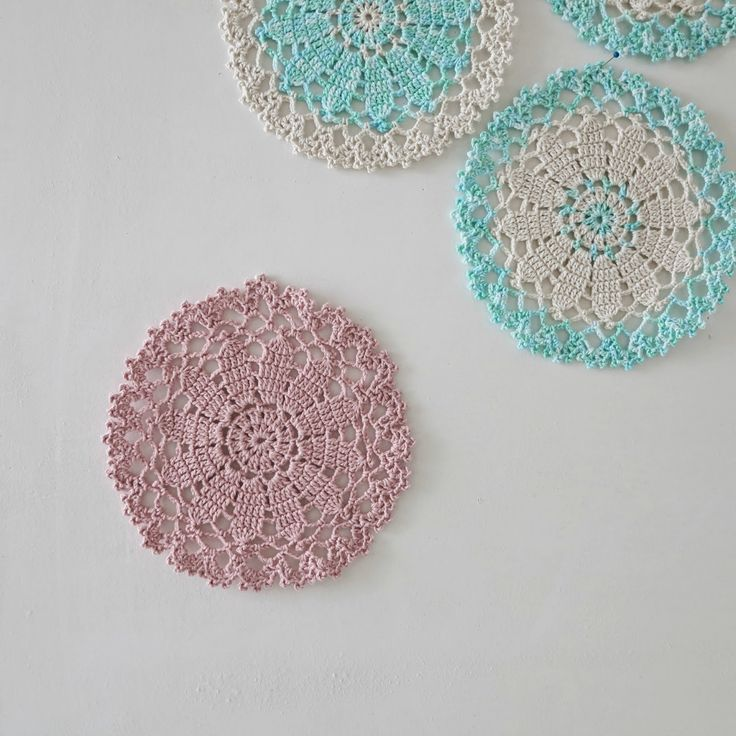 ByHaafner * crochet : It's Just Another Doily Monday...