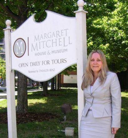 Дом-музей Маргарет Митчелл.
