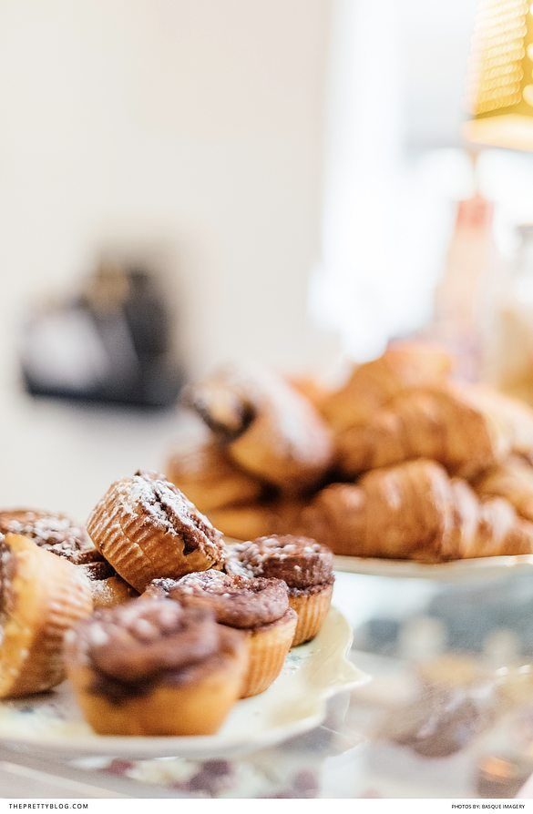 Muffins and croissants at a bakery | Photographers: Basque Imagery | Photographers: Christine Meintjes | Hangout: The Larder |