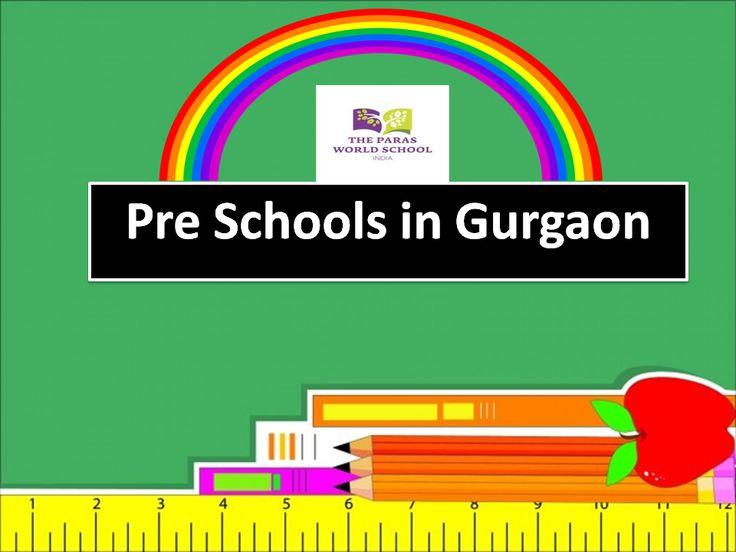 Pre Schools in Gurgaon