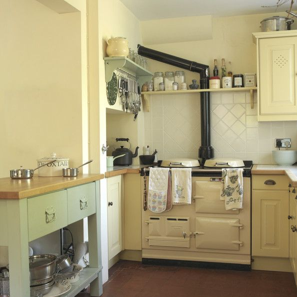 Country Kitchen Photos - Look at the rack with the hooks for hanging kitchen utensils