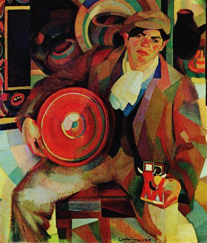 """""""O Homem das Louças"""".  (1919). (by Eduardo Afonso Viana)."""