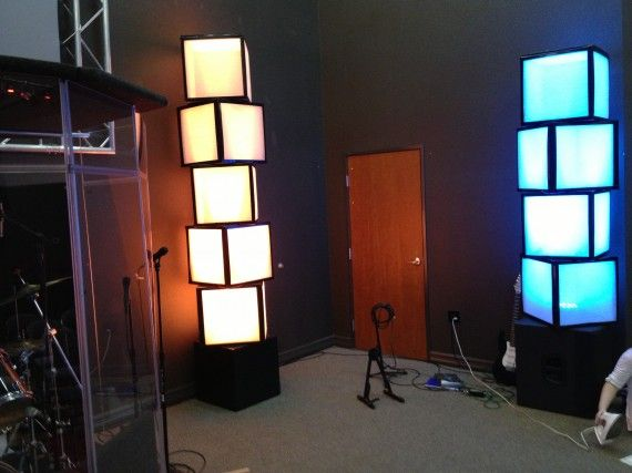 Air filter light boxes maybe for those question mark for Lamp and light ministries