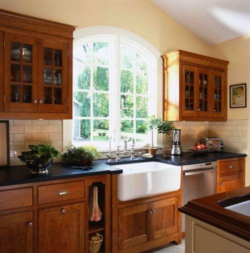KitchenKitchens Design, Traditional Kitchens, Soapstone Countertops, Subway Tile, Farms Sinks, Farmhouse Sinks, Cabinets Design, Kitchens Photos, Kitchens Sinks