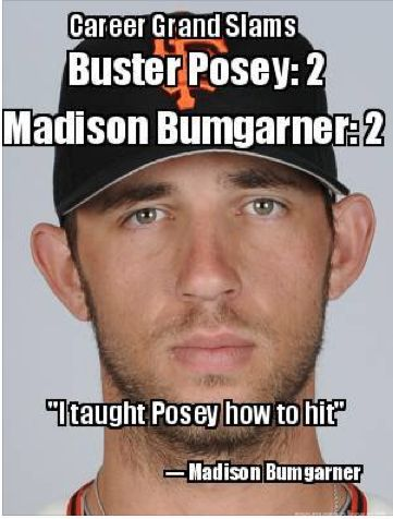 There are only 4 Madison Bumgarners they are all called formerly Mario's and 2 are listed among the hostages with 8 Buster Posey's out of 8. #news