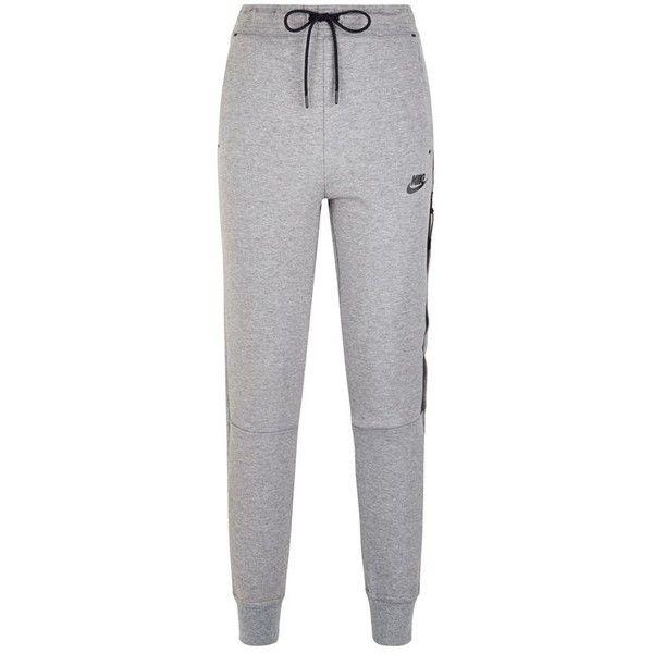 Nike Tech Fleece Sweatpants ($96) ❤ liked on Polyvore featuring activewear, activewear pants, pants, bottoms, nike, sweatpants, sweats, lightweight sweat pants, nike activewear pants and lightweight sweatpants