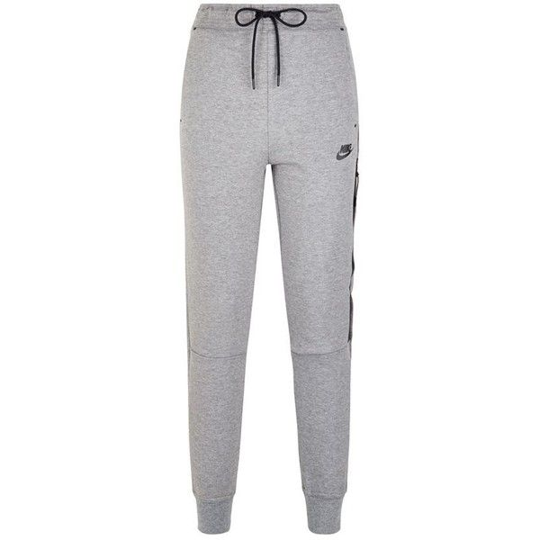 Nike Tech Fleece Sweatpants ($94) ❤ liked on Polyvore featuring activewear, activewear pants, pants, bottoms, sweats, sweatpants, calça, lightweight sweat pants, sweat pants and drawstring sweat pants