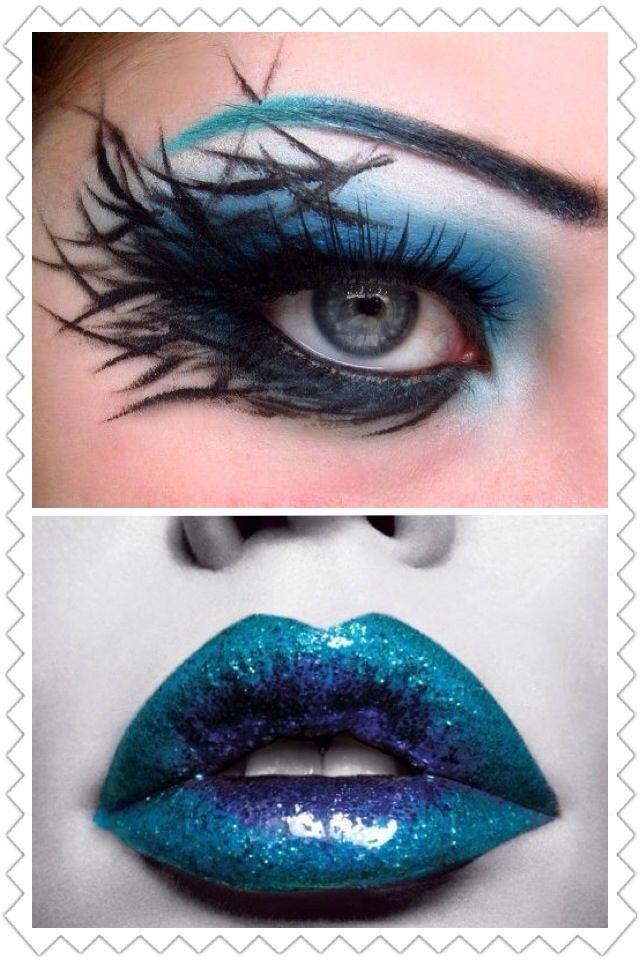 Love this one. Dark fairy. Inspirational fairy makeup idea.