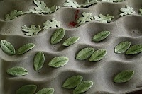 fuzzy leaves how to: dusty miller & lamb's ear by A Cake to Remeber