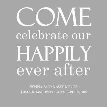 best 25+ wedding anniversary invitations ideas on pinterest, Party invitations