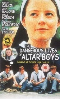 The Dangerous Lives of Altar Boys stars Jodie Foster as a one legged nun, who is the nemesis of eight boys. The boys who were caught drawing obscene comics, becomes a legend by planning a big revenge. This dark humorous movie surprisingly funny and well directed. Foster is very good in her role, she did win an Oscar or two in other movies, overall a good movie to watch.