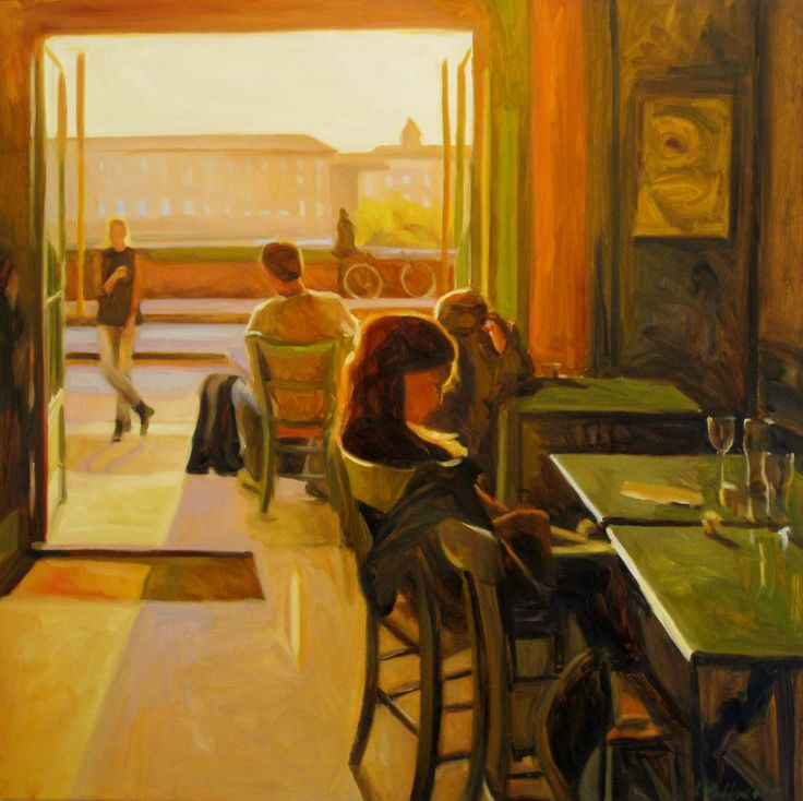 Iain Vellacott - El café de los artistas