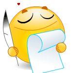 Emoticons: Liefde, Facebook - Quebles.com