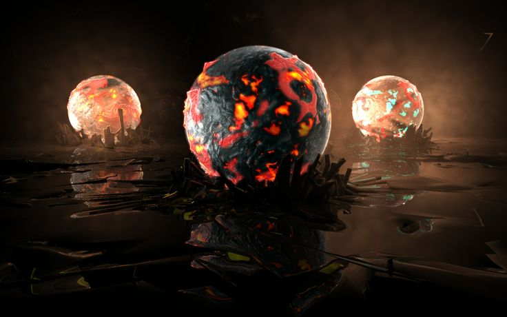 3d_cg_previewL_maxon_cinema4d_glow_spheres_lava_lighting_modeling
