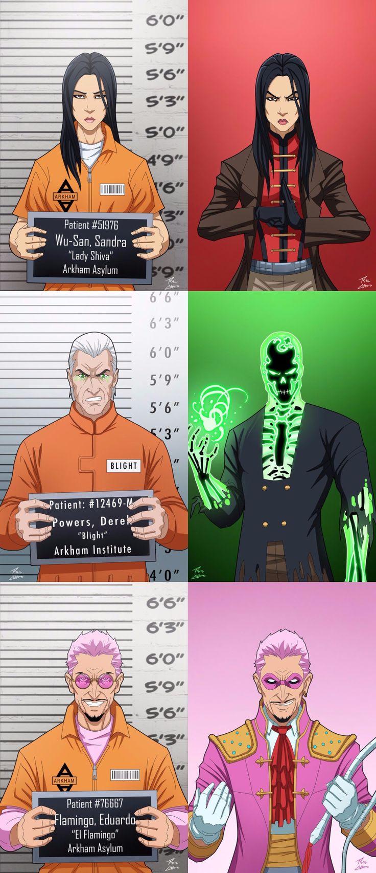 DC Comics Arkham