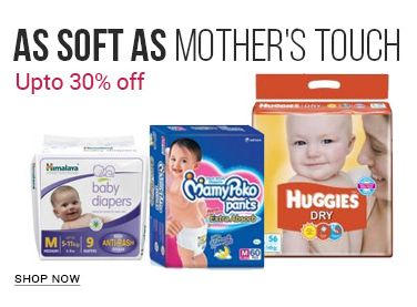 Up to 30% Off On Baby Diapers  As soft as mothers touch  Shop only at justbabydeals.com  #diaperdeals #onlinediapers #babyskin #justbabydeals
