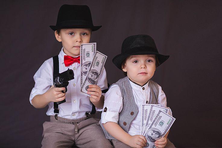 Прикольны картинки, дети гангстеры смешные картинки