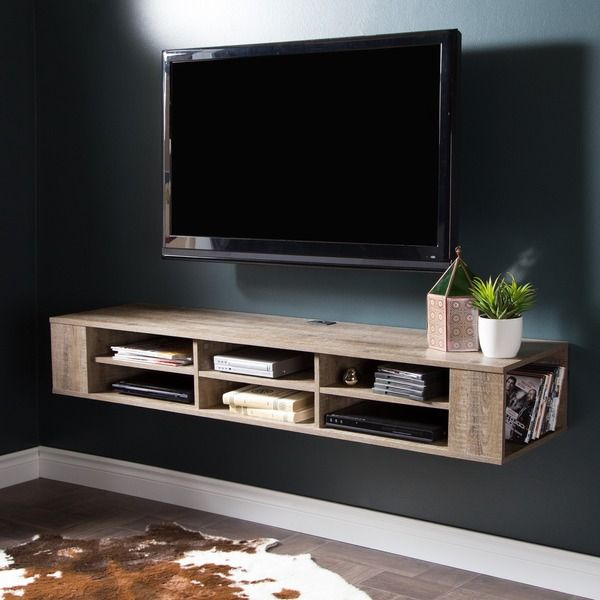 Living Room With Tv Mounted On Wall best 20+ floating media shelf ideas on pinterest—no signup