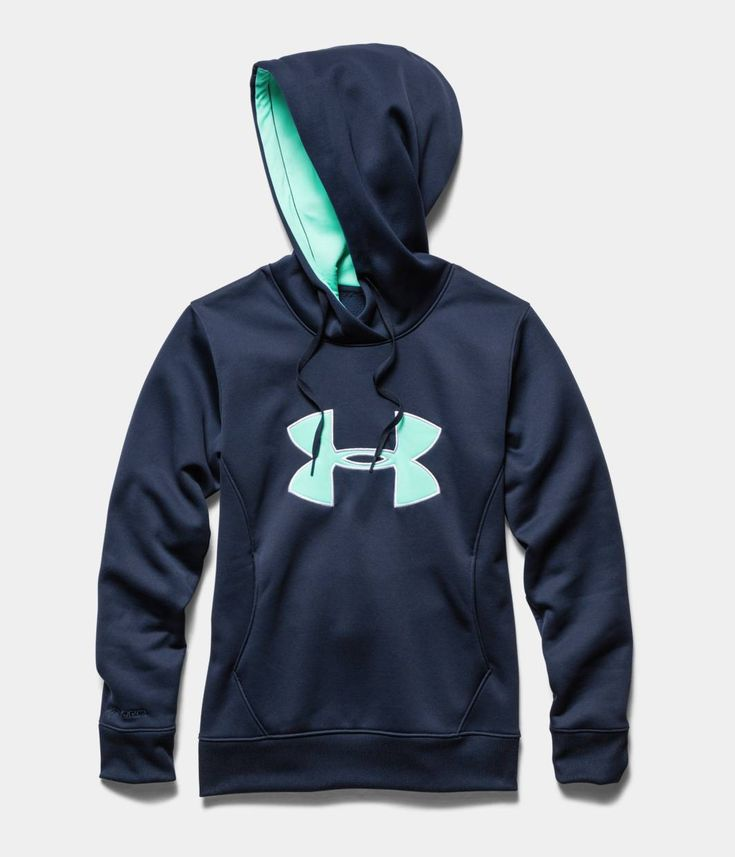 Women's UA Storm Armour® Fleece Big Logo Hoodie | Under Armour US