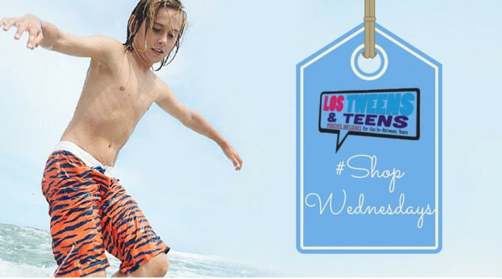 10 of the Coolest Swimsuits for Tween & Teen Boys