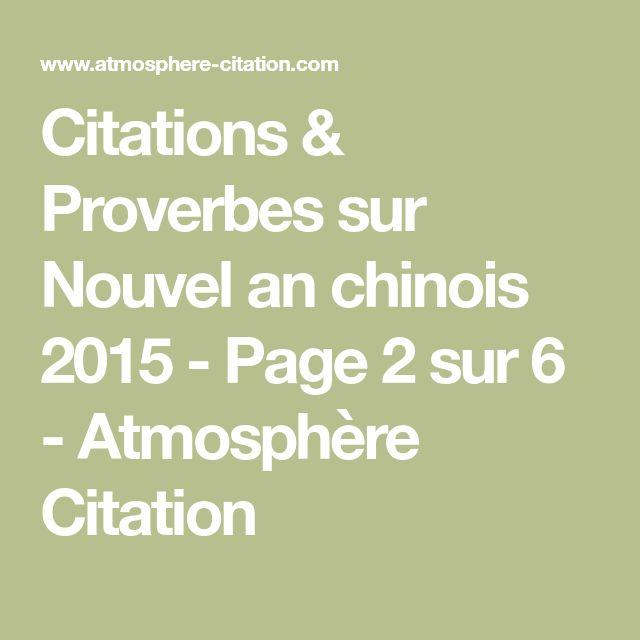 Citations & Proverbes sur Nouvel an chinois 2015 - Page 2 sur 6 - Atmosphère Citation