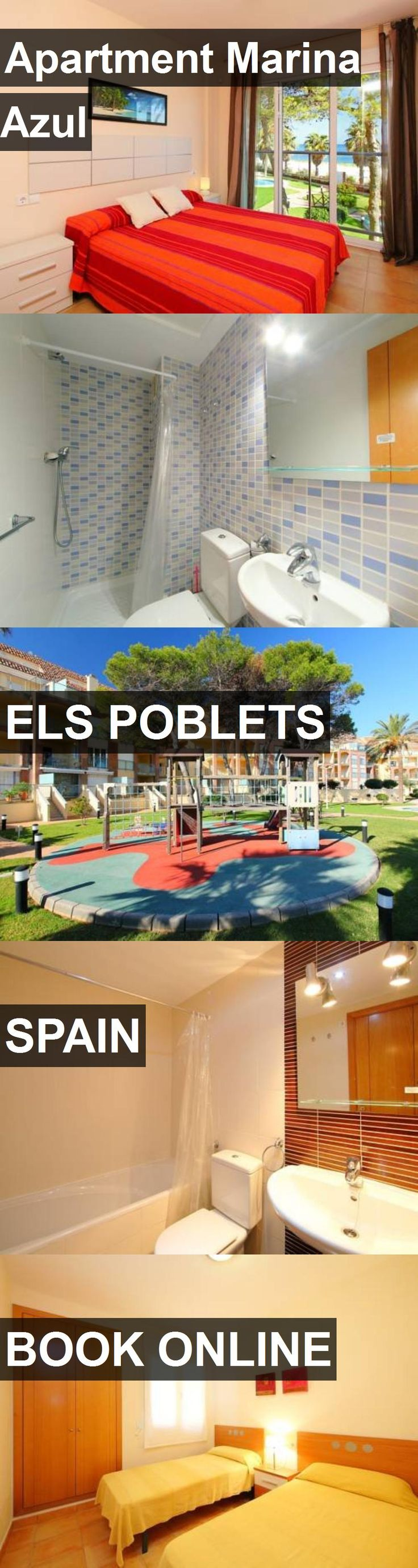 Apartment Marina Azul in Els Poblets, Spain. For more information, photos, reviews and best prices please follow the link. #Spain #ElsPoblets #travel #vacation #apartment