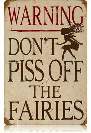 Don't Piss Off The Fairies                                                                                                                                                                                 More