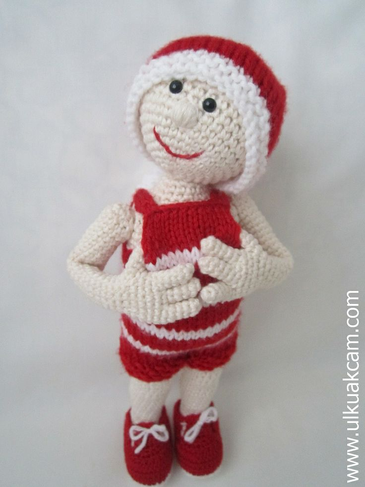 Easy Christmas Amigurumi : Images about christmas dolls on pinterest