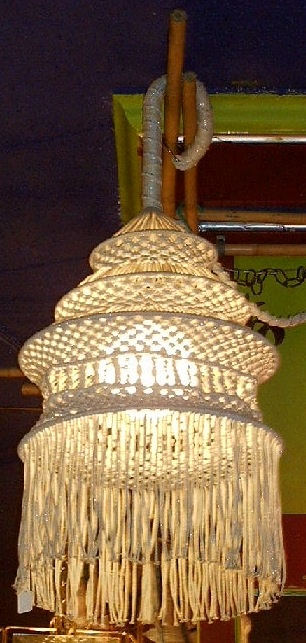 macrame lamp lighting pinterest macrame string art. Black Bedroom Furniture Sets. Home Design Ideas