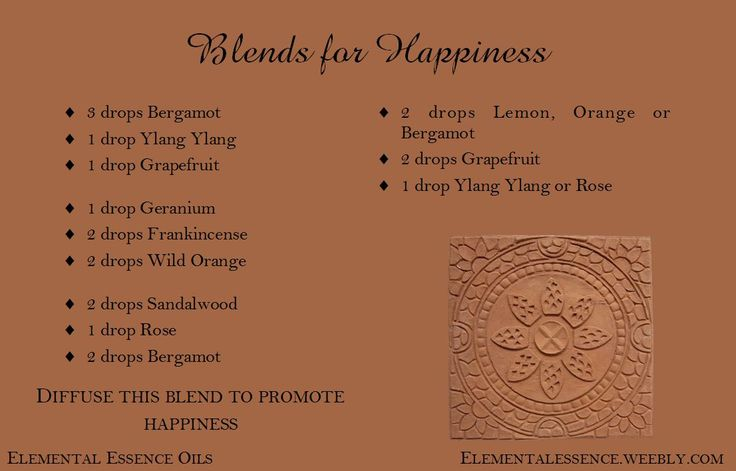Inspire happiness with these joyful blends