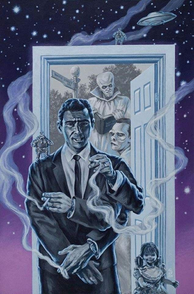 Pin By Kylee Magiera On Classics In 2020 Twilight Zone Twilight Creepshow