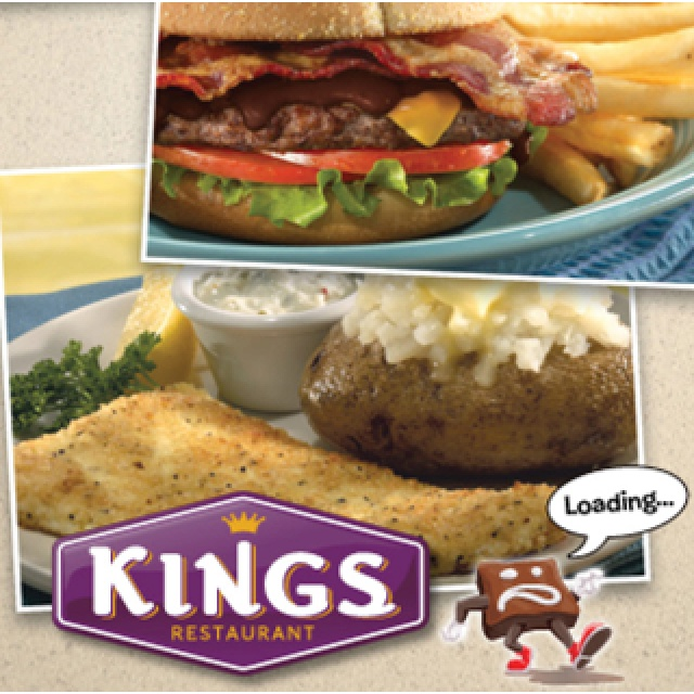 If You Have A King S Restaurant In Your Area And An Iphone