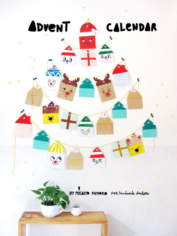 DIY Cutest Advent Calendar Ever