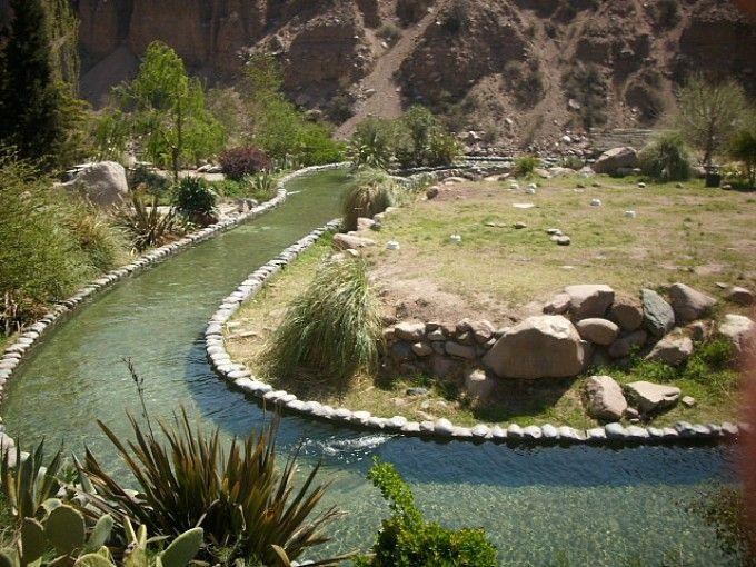 Termas de Cacheuta, Provincia de Mendoza, Argentina.