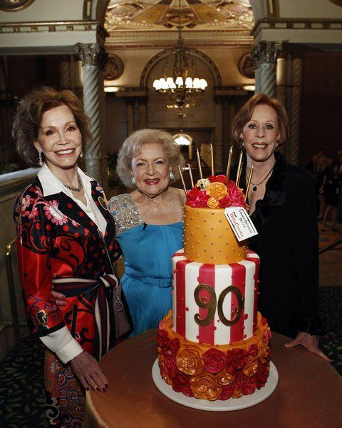 Still of Carol Burnett, Mary Tyler Moore and Betty White in Betty White's 90th Birthday: A Tribute to America's Golden Girl