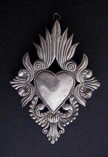 Old Gracias Recibidas Sacred Heart Milagro Ex Voto