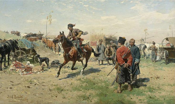 Józef Brandt - Zaporożcy