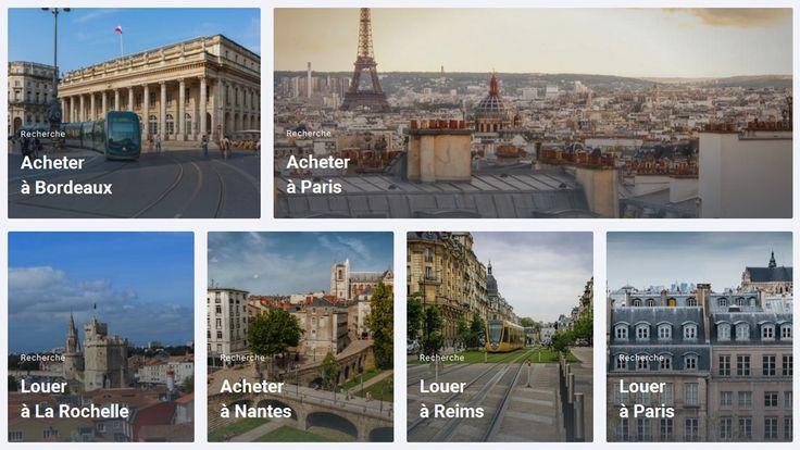 Bienici.com - le fameux site Web des géants de l'immobilier, sorti aujourd'hui en beta version.