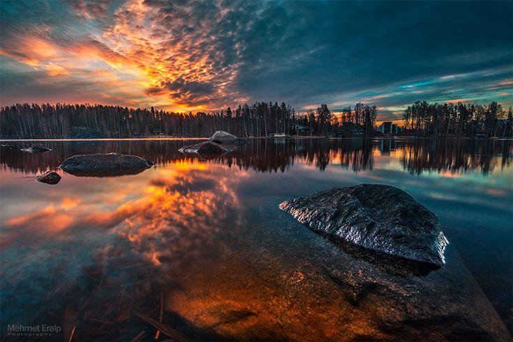 Morning in Jyvaskyla by m-eralp.deviantart.com on @deviantART