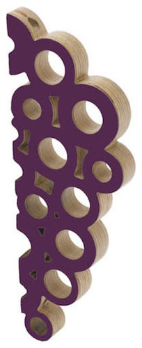 Wine Cellar Products - Bundle of Grapes Wall Mounted Wine Rack